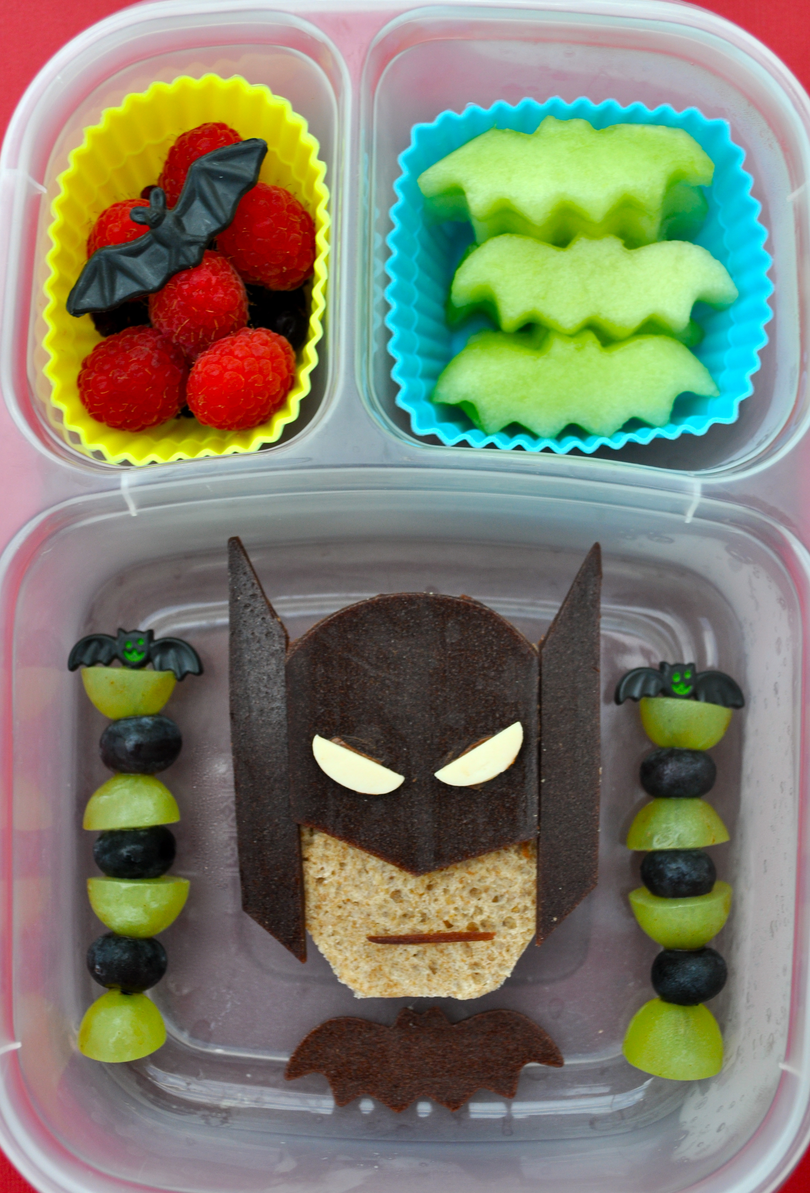 Miss G has the Spiderman lunch ... & Spidey and Batman | bentoriffic Aboutintivar.Com