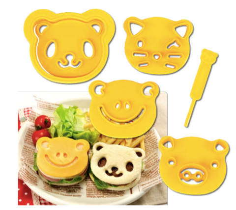 CuteZCute Food Deco Cutter Kit with 2 photos