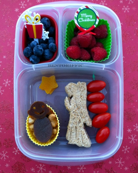 Angel & baby Jesus bento by bentoriffic