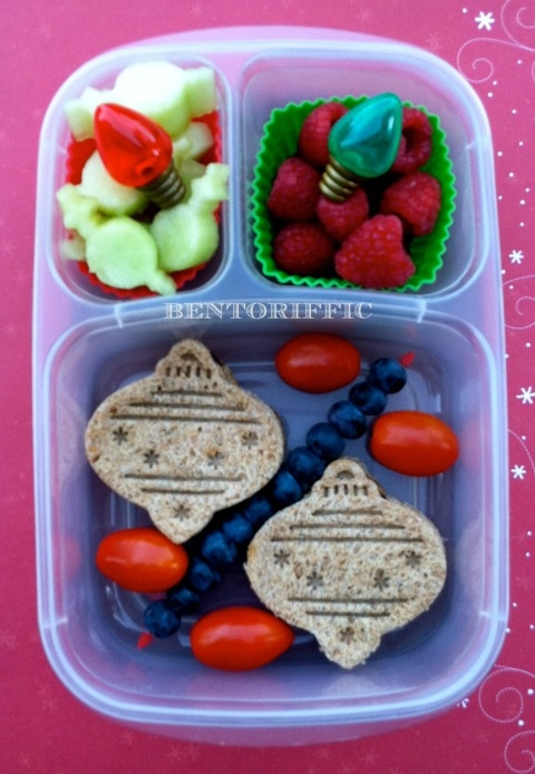 Christmas ornament bento in ELB