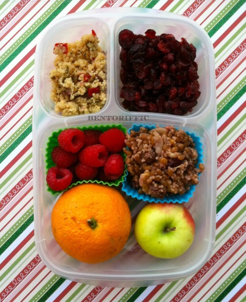 Fruit & Cous Cous bento by bentoriffic