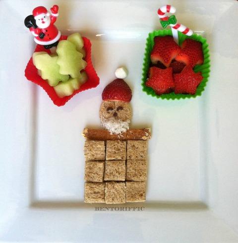 FunBites Santa by bentoriffic