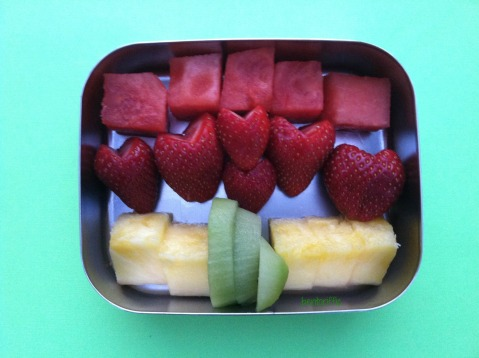 Bentoriffic fruity snack bento