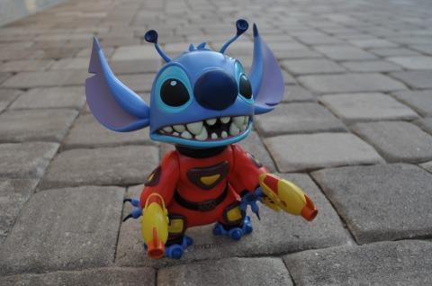 Stitch present