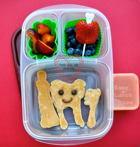 Bentoriffic-Tooth bento for dental week